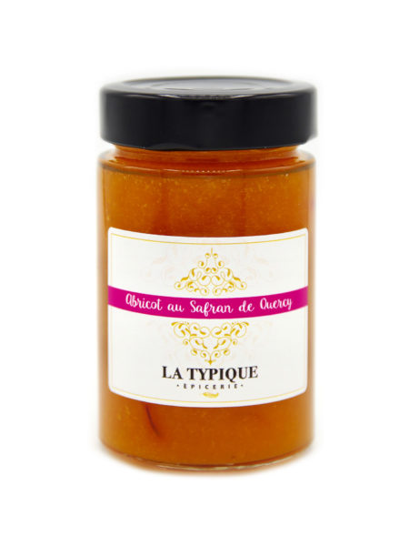 confiture-compotee-abricot-safran-quercy-saudraye-epicerie